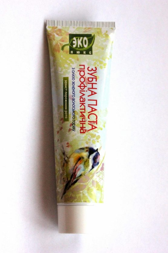 Natural Toothpaste with green walnut oil