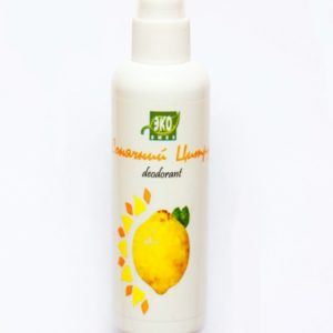Natural Deodorant Spray Sunny Citrus