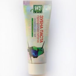 Natural Toothpaste with extract of meadow grass