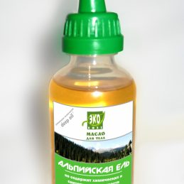 Alpine spruce body oil