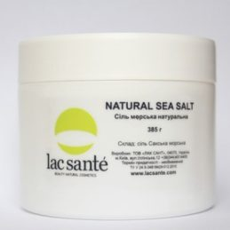 Natural sea salt Saki Lac Sante