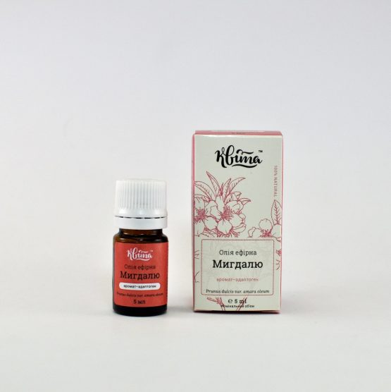 The essential oil of bitter almonds