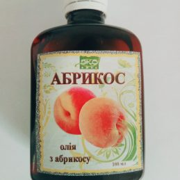 Oil apricot fruit