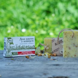 Soap For saunas with juniper