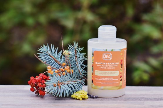 Shampoo-balm Yaka witch buckthorn oil