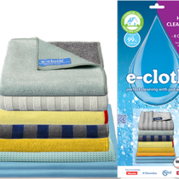 Set for cleaning the house E-Cloth Home Cleaning Set