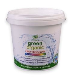 Eco-powder for washing colored linen Green Visa