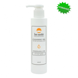 Cleansing oil for normal and dry skin lac sante