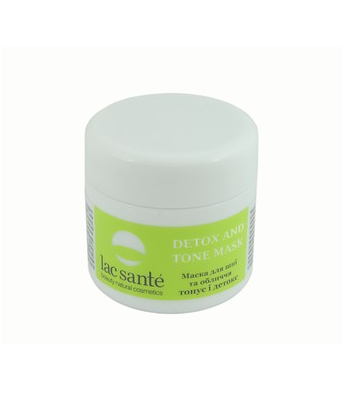 Mask for neck and face Tonus and detox Lac Sante