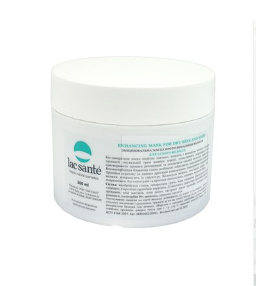 Firming mask for hair loss for dry hair Lac Sante