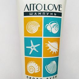 Shampoo Ekolux Summer LOVE with green clay